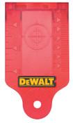 DeWalt Laser Target Card, 1 EA, #DW0730