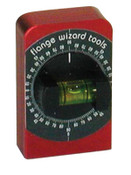 Flange Wizard Degree Levels, 2 3/8 in, 1 Vial, 1 EA, #L2