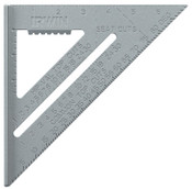 Stanley® Products Aluminum Rafter Squares, 12 in, 2 Scales, Aluminum, 1 EA
