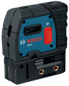 Bosch Tool Corporation 5-Point Self-Leveling Alignment Lasers, 100 ft Range, 1 EA, #GPL5