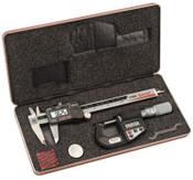 L.S. Starrett BASIC ELECTRONIC TOOL SET 799A-6/150 / 734XFL-1, 1 ST