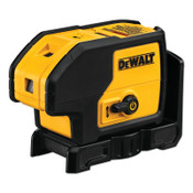 DeWalt Three Beam Laser Pointers, 1/4 in Accuracy, 100 ft, 1 EA, #DW083K