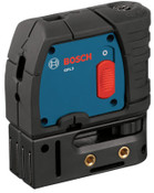 Bosch Tool Corporation 3-Point Self-Leveling Alignment Lasers, 4 1/8 in, 100 ft Range, 1 EA, #GPL3