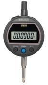 Mitutoyo Digital Indicators ID-S Solar,  0.5 in Range, Flat Back, 1 EA
