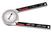 L.S. Starrett 505A Series Protractor/Miters, 7 in, 1 EA, #11677
