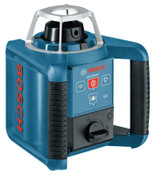 Bosch Tool Corporation Self Leveling Rotating Lasers, 7 1/2 in, 1000 ft Range, 1 EA, #GRL300HV