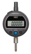 Mitutoyo Digital Indicators ID-S Solar, 0.5 in; 3/8 in Stem, Flat Back, 1 EA