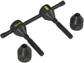 Sumner Sumner Flange Levels, 5/8 in - 1 5/8 in, Push Button Qwik Pin, 1 PR, #781240