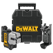 DeWalt Three Beam Line Lasers, 165 ft Range, 1 EA, #DW089K
