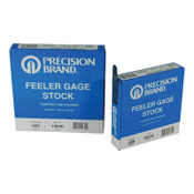 Precision Brand Coil Steel Feeler Gauges, 0.001 in, 25 ft Length, 25 COIL, #19125
