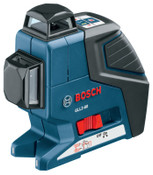 Bosch Tool Corporation Dual Plane Leveling and Alignment Lasers, 100 ft Range, 1 EA, #GLL280