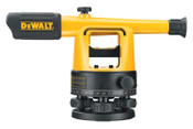 DeWalt Optical Instruments, Builder's Level Kit, 200 ft Range, 1 KIT, #DW090PK