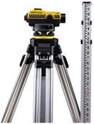"Bosch Tool Corporation SAL ""N"" Series Automatic Levels, Kit w/Tripod, 300 ft Range; 91 m, 1 KIT, #55SLVP24ND"