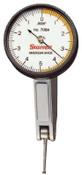 L.S. Starrett 708 Series Dial Test Indicators, 0-5-0 Dial, 0.02 in Range, 1 EA, #64212