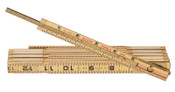 Klein Tools Extension Rules, 6 ft, Wood, 1 EA, #9056