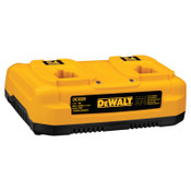 DeWalt Dual Port Chargers, 7.2 to 18 V, 1 EA