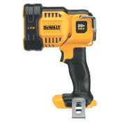 DeWalt 20V MAX Jobsite LED Spotlight, Black/Yellow, 1 EA, #DCL043