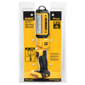 DeWalt LED Hand Held Area Lights, 250/500 Lumens, Yellow/Black, 1 EA, #DCL050