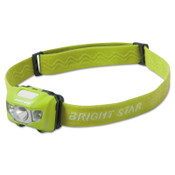 BRIGHT STAR VISION LED Headlamps, 3 AAA, 185 lumens, Green, 6 EA, #200501