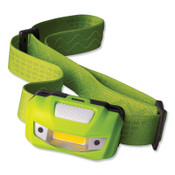 Bright Star Vision LED Flood Headlamp, 2-AAA Alkaline Batteries, 125/15 Lumens, 6 EA, #200511