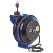 Coxreels EZ-Coil Power Cord Reels, 12/3 AWG, 20 A, 50 ft, 1 EA, #EZPC135012A