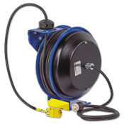 Coxreels PC13 Series Power Cord Reels, 12/3 AWG, 20 A, Quad Industrial Receptacle, 1 EA, #PC133512B