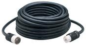 CCI Power Cords, 100 ft, 1 Outlet, Black, 1 EA