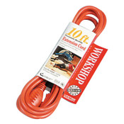 CCI Vinyl Extension Cord, 10 ft, 1 Outlet, 1 EA, #23048803