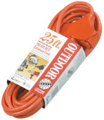 CCI Tri-Source Vinyl Multiple Outlet Cord, 25 ft, 3 Outlets, 1 EA, #4217SW8804