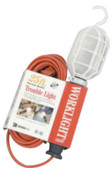 CCI Trouble Lights, 100 W, Yellow, 25 ft Cord, 1 EA, #53378802