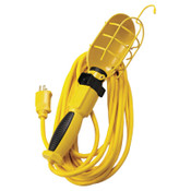 CCI 25' 16/3 SJEO YELLOW TROUBLE LIGHT GROUNDED CO, 1 EA, #58578802