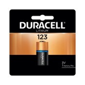 Duracell Duracell Procell Batteries, Lithium Cell, 3 V, 123, 6 CT, #DURDL123ABPK