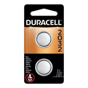Duracell Lithium Batteries, Coin Cell, 3 V, 2032, 144 CA, #DURDL2032B2PK