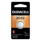 Duracell Lithium Batteries, Coin Cell, 3 V, 2032, 6 CT, #DURDL2032BPK