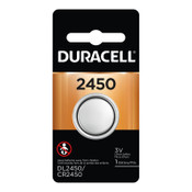 Duracell Lithium Batteries, Coin Cell, 3 V, 2450, 36 CA, #DURDL2450BPK