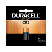 Duracell CR2 Lithium Batteries, Lithium, 3 V, 1 EA/PK, 6 BX, #DURDLCR2BPK