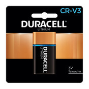 Duracell Ultra High Power Lithium Battery, CRV3, 3V, 1 EA, #DURDLCRV3B