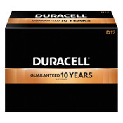 Duracell CopperTop Batteries, DuraLock Power Preserve Alkaline, 1.5 V, D, 12 CT, #DURMN1300