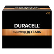 Duracell CopperTop Batteries, DuraLock Power Preserve Alkaline, 1.5 V, C, 12 PK, #DURMN1400