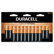 Duracell CopperTop Batteries, DuraLock Power Preserve Alkaline, 1.5 V, AA, 20 PK, #DURMN1500B20Z