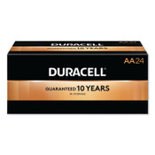 Duracell CopperTop Batteries, DuraLock Power Preserve Alkaline, 1.5 V, AA, 24 PK, #DURMN1500BKD