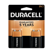 Duracell CopperTop Batteries, DuraLock Power Preserve Alkaline, 9V, 2 CD, #DURMN1604B2Z