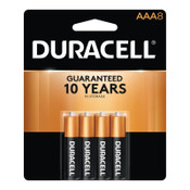 Duracell CopperTop Batteries, DuraLock Power Preserve Alkaline, 1.5 V, AAA, 8 CD, #DURMN2400B8Z