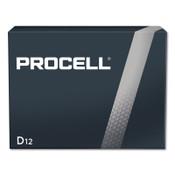 Duracell Procell Batteries, Non-Rechargeable Alkaline, 1.5 V, D, 12 PK, #DURPC1300