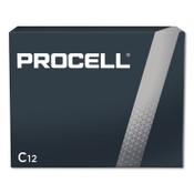 Duracell Procell Batteries, Non-Rechargeable Alkaline, 1.5 V, C, 12 PK, #DURPC1400