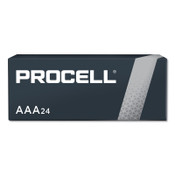 Duracell Procell Batteries, Non-Rechargeable Alkaline, 1.5 V, AAA, 24 PK, #DURPC2400BKD