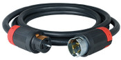 Cooper Wiring Devices Temporary Power Cord, 50 ft, 1 EA