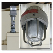 Justrite Explosion Proof Exterior Light with Photocell for Safety Locker, 1 EA, #915503