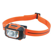 Klein Tools Headlamp, 3 AAA, 150 lumens, Orange, 1 EA, #56220