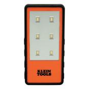 Klein Tools Clip Lights, 2 AAA, 150 lumens, Orange, 1 EA, #56221